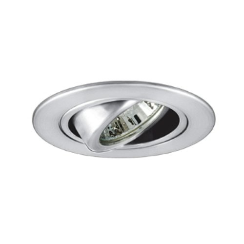 Jesco Lighting TM308CH 3-Inch Aperture Low Voltage Trim Recessed Light, Adjustable Gimbal Ring, Chrome Finish