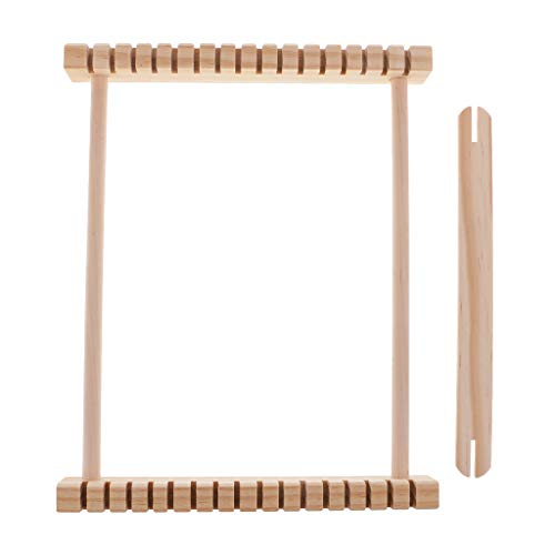 Fityle DIY Hand Knitting Wooden Loom Children Weaving Machine Tool Kids Traditional Educational Toy