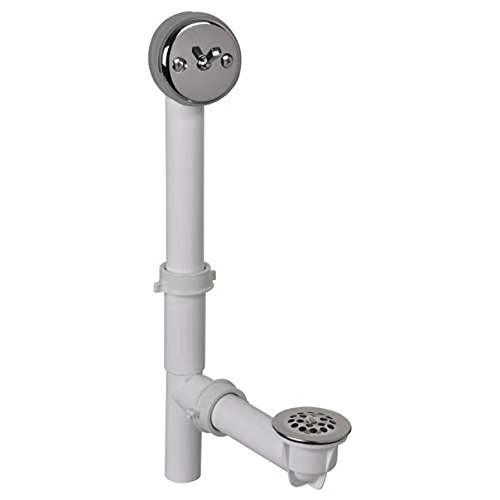 AB&A Waste And Overflow Part Full Adjustable Trip Lever PVC ABA14899SN