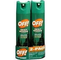 Off Deep Woods Repellent - Off Deep Woods Insect Repellent - 2/11 oz.