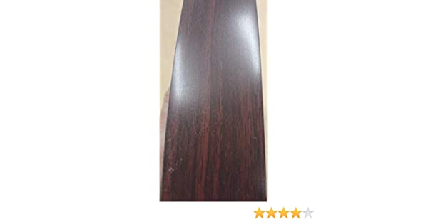 """Empire Mahogany Wilsonart # 7122 PVC edgebanding 1-5//16/"""" x 120/"""" inches x 1//50/"""""""