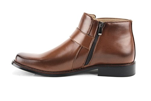 Amazon Com New Men S 38901 Ankle High Square Toe Casual Dress