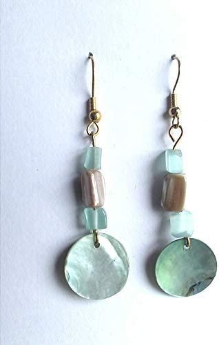 100 Pair lot Recycled Teasures Boutique Simple Delicate Beaded Handmade Earrings for Women /& Teen Girls