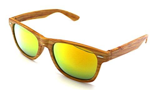 S5599r Sun Pasta Sol de de NEW Gafas 400 UV Madera Vision Wayfarer Calidad Alta ARYUnW7