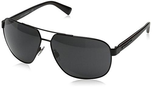 D&G Dolce & Gabbana Men's Urban Aviator Sunglasses, Black & Grey, 63 mm - D&g Men Shoes
