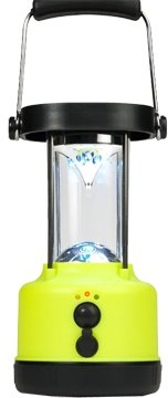 Hybrid Lights Hybrid Solar Power Lantern Yellow, Outdoor Stuffs