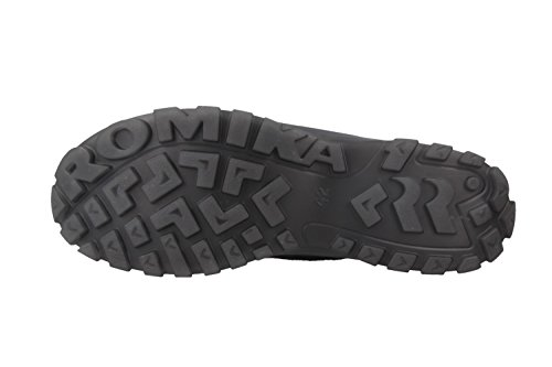 Romika - Botas de Piel para mujer Negro negro