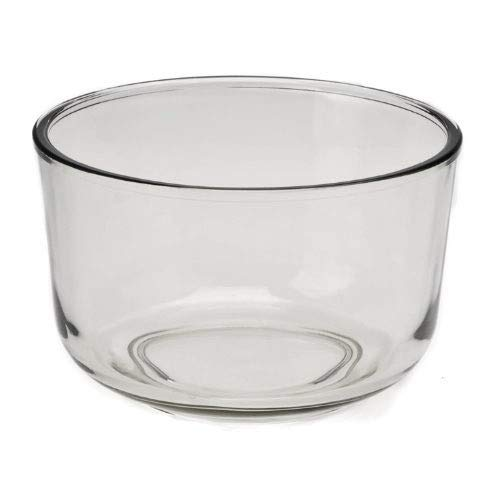 115969-001-000 115969001000 Stand Mixer Glass Mixing Bowl- 4 Quart for Sunbeam MixMaster 2371 2397 2395