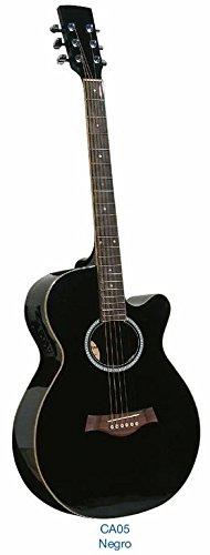 Guitarra acústica Academy CA05CE Negra