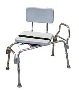 Padded Sliding Transfer Bench - 8
