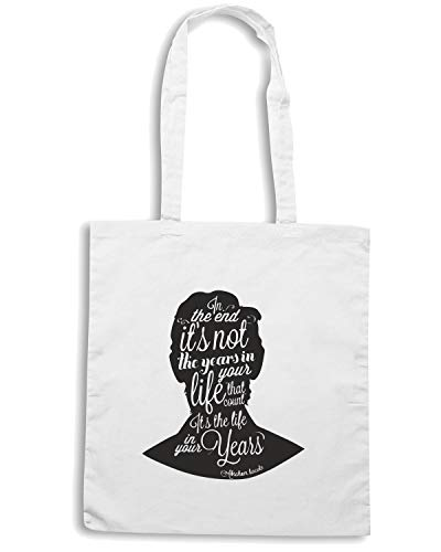 Speed Shirt Borsa Shopper Bianca CIT0011 ABRAHAM LINCOLN 3