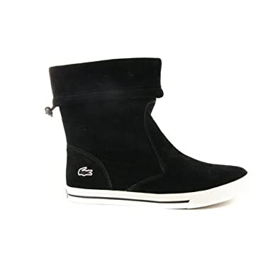 a88bb565b3ed00 Womens Lacoste Matane Black Suede Boots UK 7.5  Amazon.co.uk  Shoes   Bags