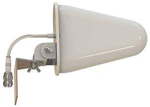 Dual Vertical Beam (Tupavco DB541 Yagi WiFi Antenna Dual Band - (2.4GHz) and (5GHz/5.8GHz) 9dBi - Medium Range Directional Wireless LAN Network Antenna ...)