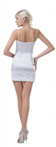 Orifashion - Vestido - Sin mangas - para mujer
