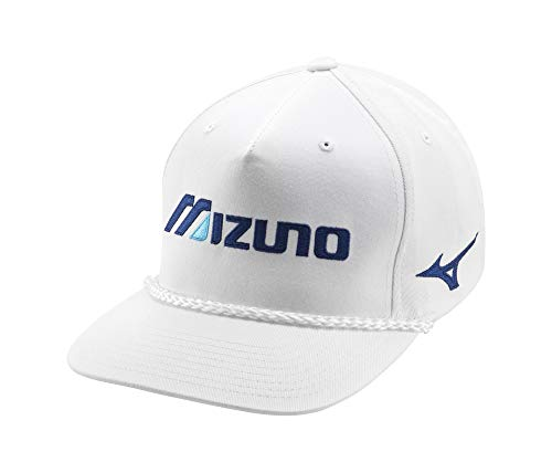 Mizuno Retro Golf Hat, White, One Size