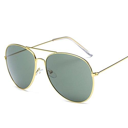 Unisex Sunglasses, ARINLA Fashion Classic Men Women Square Vintage Mirrored Sunglasses Outdoor Sports Glasses (Gold, - Sunglasses For Zungle Sale