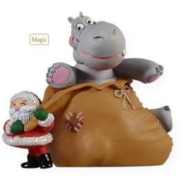Amazon.com: I Want A Hippopotamus For Christmas Ornament- Hallmark ...