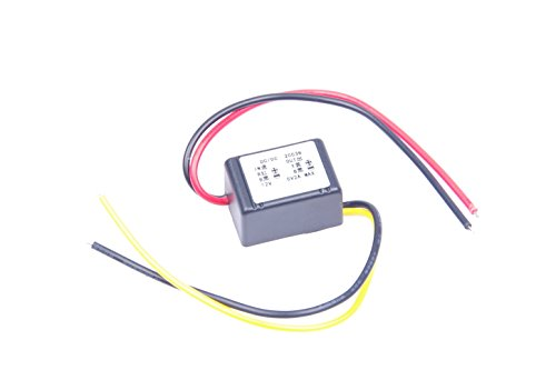 KNACRO DC-DC 12V to 5V 2A Step-down power supply module Car power converter module Synchronous buck With Reverse connection ()