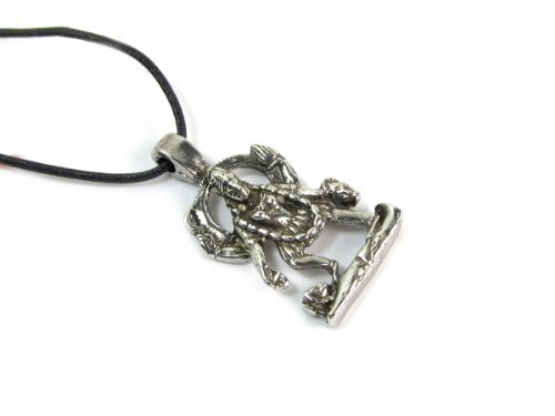 Kali, the Hindu Deity Pendant on Cord Necklace, The Vedic Collection