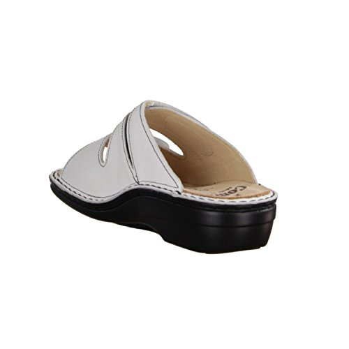 Finn Comfort - Sandalias de material sintético para mujer blanco blanco