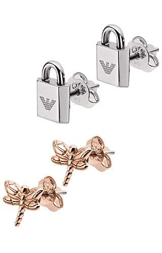 Emporio Armani EGS2576221 Stainless Steel Woman Earrings