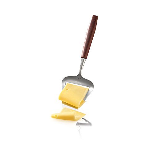 Boska Holland Cheese Slicer and Plane w. Rose Wood Handle, Flex Steel Blade, 10 Year Guarantee, Taste Collection