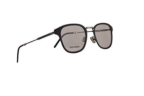 Christian Dior Homme Dior0232 Eyeglasses 50-21-150 Matte Black w/Demo Clear Lens 003 ()