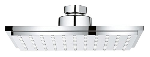 - Grohe 26468000 Euphoria Cube 150 Shower Head 1 Spray, Starlight Chrome