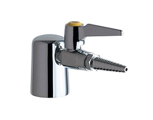 Chicago Faucets 980-909AGVCP Turret with Single Ball Valve, Chrome ()