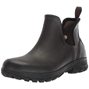 Bogs Men's Sauvie Slip On Low Height Chukka Rain Boot