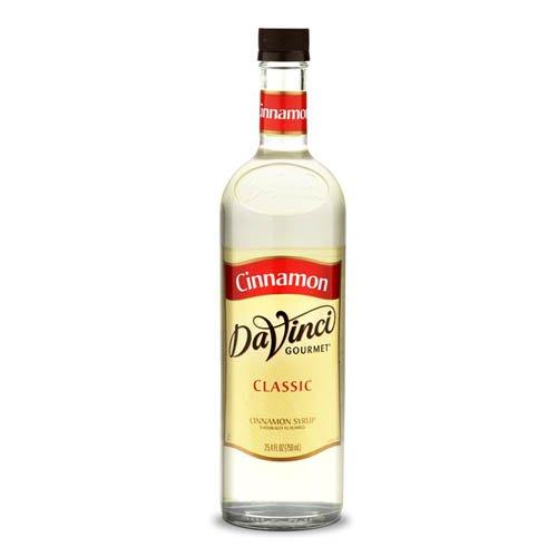Da Vinci Cinnamon Syrup ,750 ml Bottle