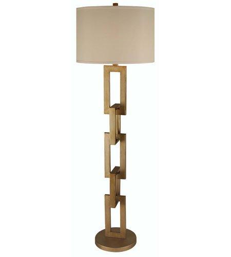 Trend Lighting TF7576 Linque Floor Lamp, Antique Gold