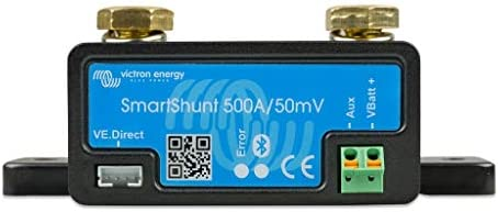Victron Energy SmartShunt 500 amp 50m-Volt Battery Monitor (Bluetooth)