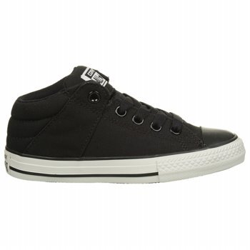 152b19bb66bd Converse CT Axel Mid Black Youths Trainers (3 Little Kid M)
