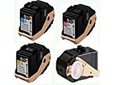 Ink Now™ Premium Compatible Phaser 7100 Combo Pack (all 4 colors) KMCY 106R02605,106R02602,106R02603,106R02604 for Printers 37000 Yield