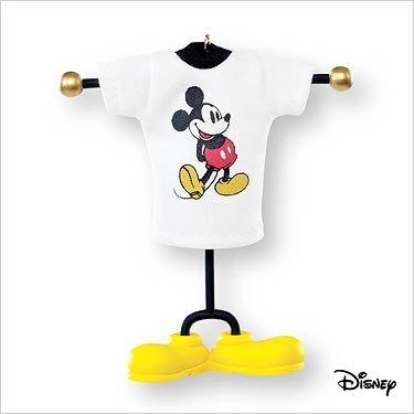 Disney Mickey Mouse Style with a Smile Hallmark Keepsake Ornament 2007
