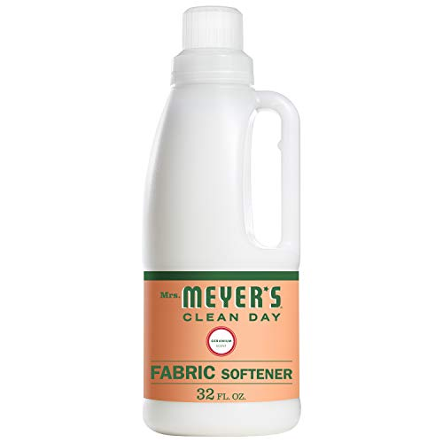 (Mrs. Meyer's Clean Day Liquid Fabric Softener, Geranium Scent, 32 ounce bottle)