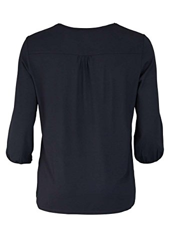 Betty Barclay 3/4 Arm Shirt Rundhals Strass Muster Schwarz