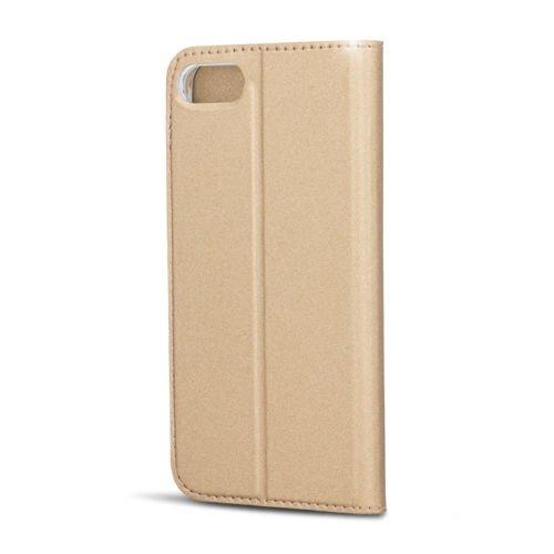 """BOOK CASE SMART PREMIUM gold Für Apple iPhone 7 Plus 5.5"""" iPhone 7 5.5"""" Cover Handy Tasche Flipcase Etui Buchform Kunststoff TPU Halterung für Kreditkarten"""