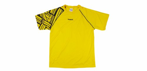 Reusch Adult Lakota Short Sleeve Goalkeeper Jersey, Canary Y