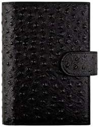 ASHDZ ノートブック、革で満たされたメモ帳、ルーズリーフブック-日記メモ日記と計画-美しいギフトボックス/ 80枚 事務用品 (Color : Black, Size : B)