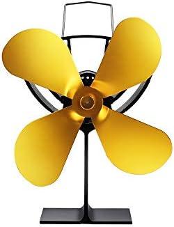 Ventilador de calor Desarrollado Durable 4 Estufa Aspas Del ...