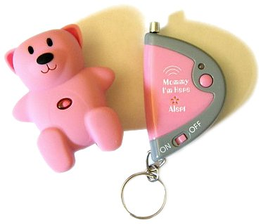 I-INC Mommy I'm Here CL305HP Hot Pink Bear Child Locator,...