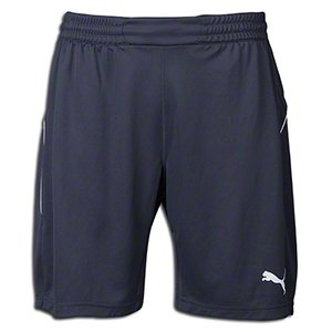 (Puma Women's GK Shorts, X-Large, Ebony-White )