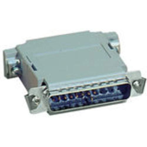 Black Box Null-Modem Adapter - 1 x DB-25 Male Serial - 1 x DB-25 Female Serial