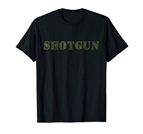 SHOTGUN in Camouflage Hunting and Shooting Shirt