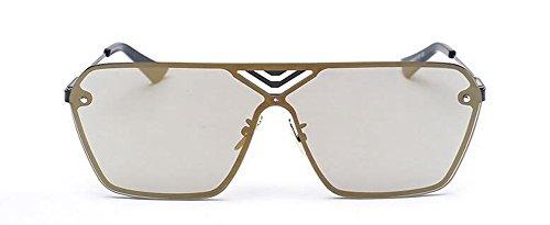 Lennon Local cercle retro Or inspirées polarisées métallique lunettes du en vintage style de rond soleil fqCw8A