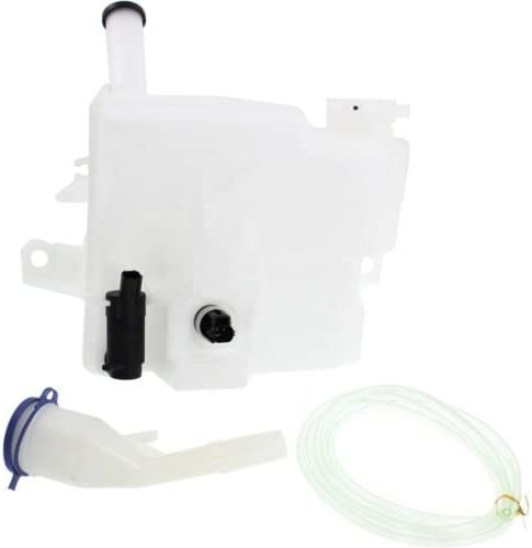 w//Pump Assy and Sensor MAPM Premium FOCUS 12-14 WINDSHIELD WASHER TANK Sedan Cap Inlet