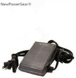 VX710 VX757 VX660 VX780 NewPowerGear New Sewing Machine Foot Control Pedal Cord Brother Replacement for Brother VX640 VX707 VX760