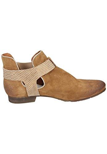 para Piel Botas marrón Stiefelette Piazza Damen marrón mujer de Piazza marrón qwnWwg4x